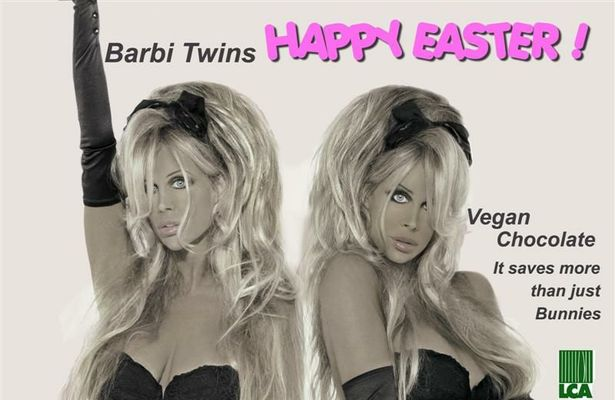 The Barbi Twins Wish You a Happy Easter!