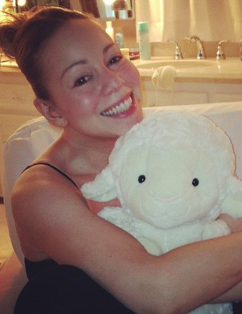 True Makeup on True Beauty  Mariah Carey With No Makeup
