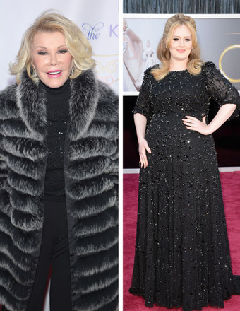 Joan Rivers Slams Adele: 'She's a Chubby Lady Who's Very, Very Rich'