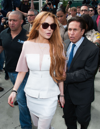Lindsay Lohan's Wardrobe Malfunction, Adderall Deal