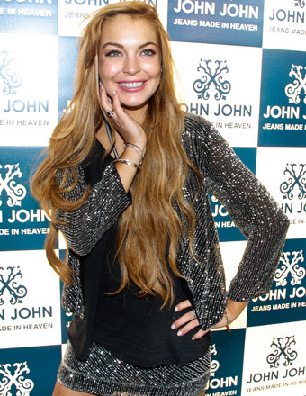 Lindsay Lohan: April Fools, I'm Not Pregnant
