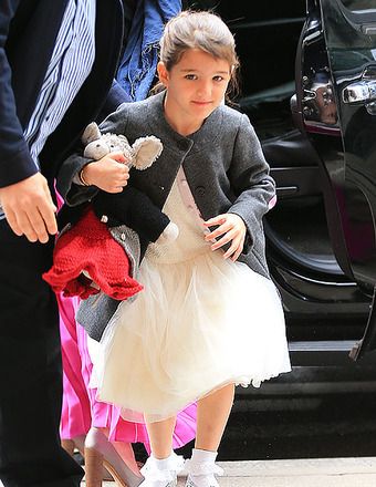 Pic! Suri Cruises New Bang-Up Haircut