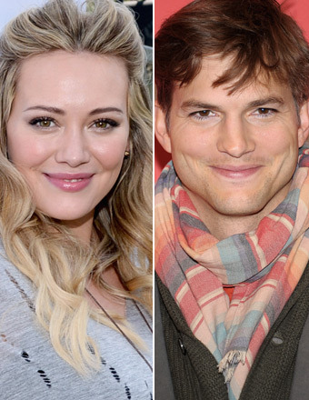 Hilary Duff Catches Ashton Kutcher's Eye on 'Two and a Half Men'