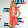 Pic! Brandi Glanville&#8217;s Cleavage-Baring Red Lace Dress
