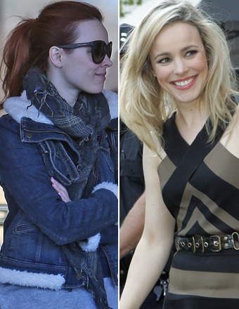 Red Hot Rachel McAdams Dyes Her Hair!