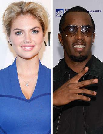 Kate Upton Denies Dating Diddy