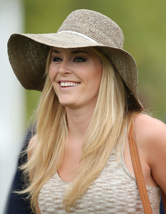 View Gallery Getty Images Olympic skier Lindsey Vonn was on the scene ...