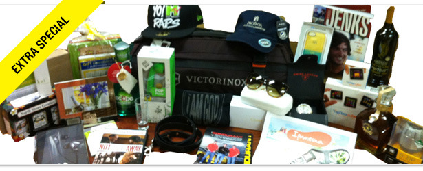 Win It! Official 2013 MTV Movie Awards Gift Bag