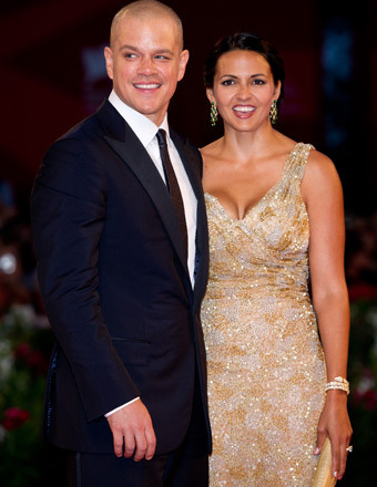 Matt Damon and Wife Luciana Renew Wedding Vows