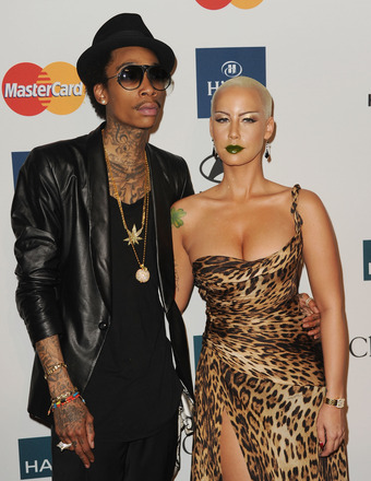 See Amber Rose's New Wiz Khalifa Tattoo