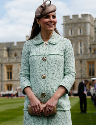 Baby Bump! Kate Middleton is Finally Showing