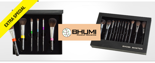 Win It! A Bhumi Master and Blush Brush Set