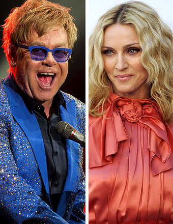 Elton John: The Feud with Madonna is Over