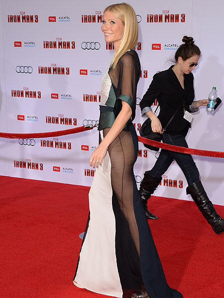 Gwyneth Paltrow Humiliated over Sheer Premiere Dress