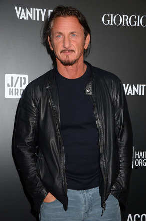 Sean Penn and Giorgio Armani Team Up to Help Haiti