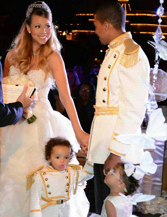 Mariah Carey &amp; Nick Cannon Renew Vows at Disneyland 
