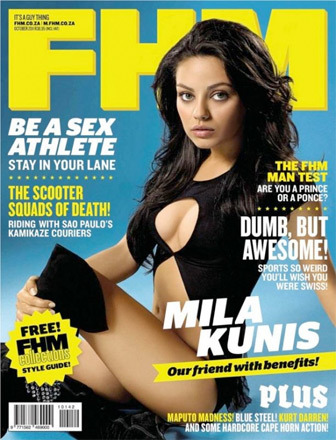 Mila Kunis Crowned FHM&#039;s Sexiest Woman in the World