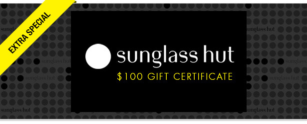 Win It! A $100 Gift Certificate to Sunglass Hut