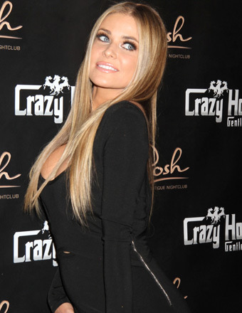 Video! Carmen Electra Celebrates 41st Birthday at Crazy Horse