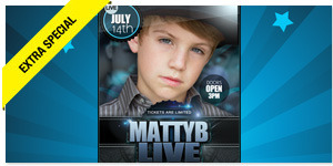 Win It! Two Tickets to See MattyB