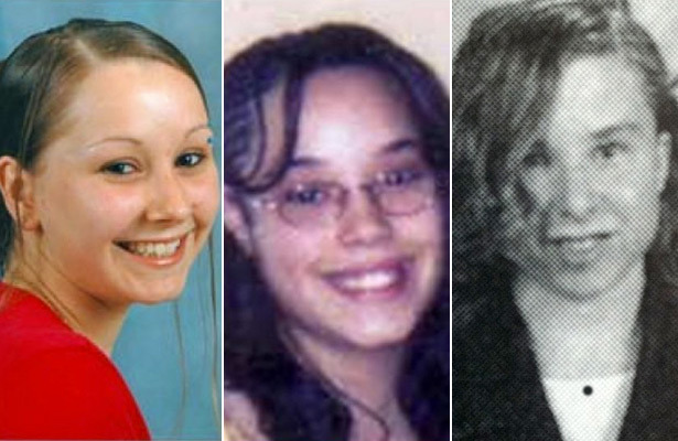 Amanda Berry, Gina DeJesus and Michelle Knight / Splash News