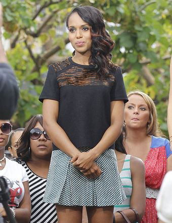 Kerry Washington Dishes on 'Scandal' Season Finale