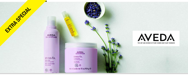 Win It! Stress-Fix Body Collection from Aveda