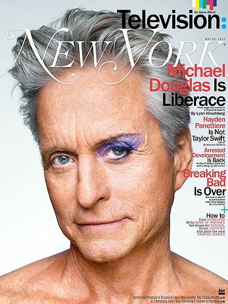 Michael Douglas Talks Liberace, Sex Scenes, and His Son in Jail