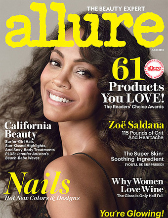 Zoe Saldana&#039;s Weight Revealed on Allure Cover