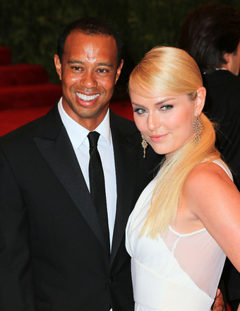 Lindsey Vonn Wears Bikini, Tiger Woods Goes Shirtless on Yacht