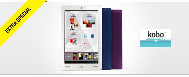 Win It! A Kobo Arc Multimedia Tablet