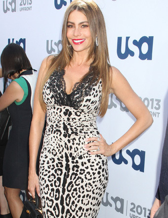 Sofia Vergara attended the USA Network 2013 Upfront Event in NYC on Thursday.