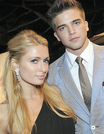 Paris Hilton and River Viiperi watched rapper Tyga perform live at the Cannes Film Festival.