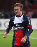 David Beckham Cries at Last Soccer Game