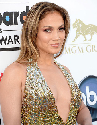 Jennifer Lopez arrived to the 2013 Billboard Music Awards.