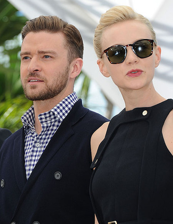 Justin Timberlake and Carey Mulligan attended the Cannes Film Festival photocall for &quot;Inside Llewyn Davis.&quot;