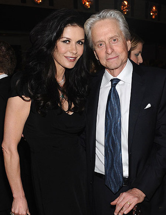 Michael Douglas on Catherine Zeta-Jones: Shes Raring to Go!