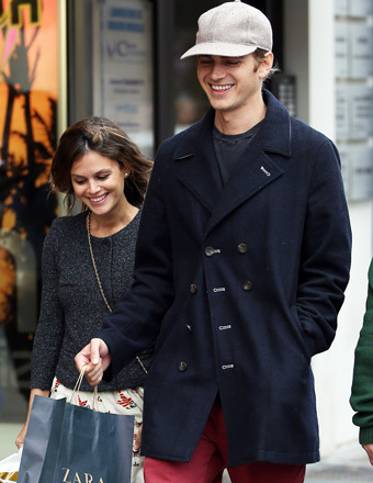 Rachel Bilson and Hayden Christensen were spotted shopping in Cannes on Sunday.