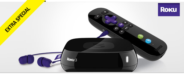Win It! Roku 3 Streaming Player with Headphones