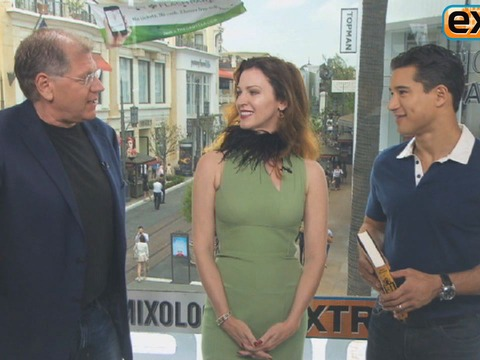 Robert and Leslie Zemeckis Talk Burlesque at The Grove