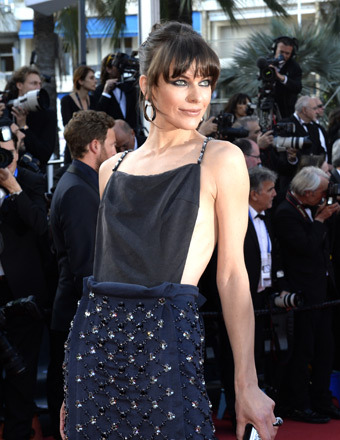 "Milla Jovovich attended the ""Cleopatra"" at the Cannes Film Festival on Tuesday."