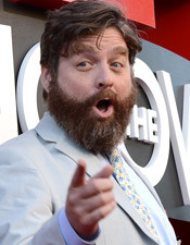 Fun Facts! Zach Galifianakis
