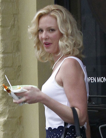 "Katherine Heigl was spotted on the set of ""North of Hell"" in New Orleans on Thursday."