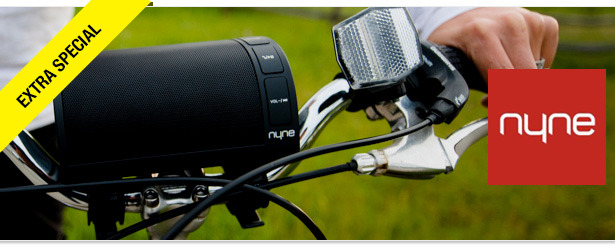 Win It! NYNE NB-200 Bluetooth Bike Speaker