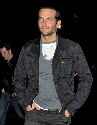 Bradley Cooper was snapped heading to the Bulgari Hotel in London.
