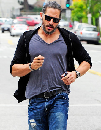 Fans Want Joe Manganiello to Lick Them… for His 'Wolf Saliva'