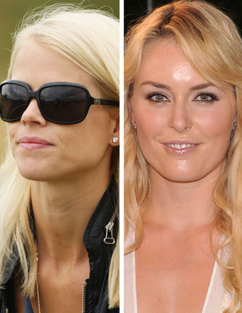 Report: Elin Nordegren Gives Lindsey Vonn Stamp of Approval