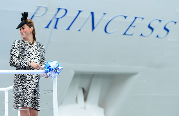 Video! Kate Middleton Christens Ship Before Taking Maternity Leave