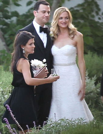 Jimmy Kimmel Is Married!