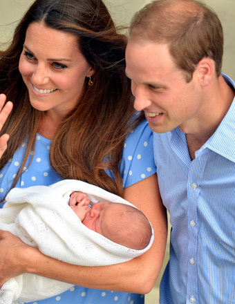 Royal Baby on the Move! Kate and William Take Prince to Bucklebury